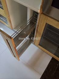 aliexpress com buy 2 tier stainless steel pull out tray soft aliexpress com buy 2 tier stainless steel pull out tray soft close side mount for 150mm kitchen cabinet from reliable soft close suppliers on ningbo