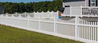 picket fences vinyl picket fencing shoreline fence co