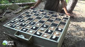 d i y rock n checkers organic outdoor table game 8 3 2014