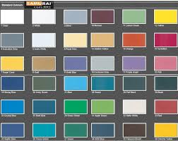 samurai spray paint standard colour end 2 1 2018 9 16 am