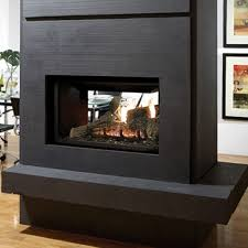 appealing and nice see thru fireplace intended for household