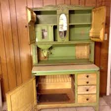 hoosier cabinet for sale near me find more 1920 s green ivory oak hoosier cabinet for sale at up to
