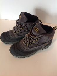 s khombu boots size 9 khombu thermolite waterproof s work hiking boots size 9