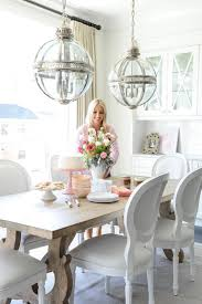 Chandelier Over Table 23 Best Dining Images On Pinterest Dining Room Dining Chairs