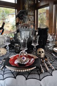 halloween tablecloth 20 ways to decorate your table for a halloween dinner party