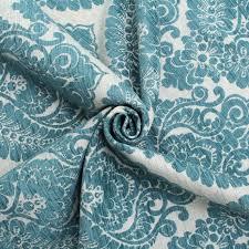 Turquoise Velvet Fabric Upholstery Heavy Weight Velvet Floral Chenille Damask Dfs Cushion Upholstery