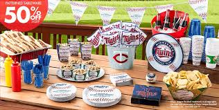 baseball party supplies mlb minnesota party supplies party city