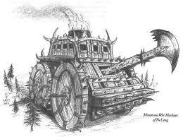 Pokemon Hantei - monstrous war machine of fu leng l5r legend of the five rings