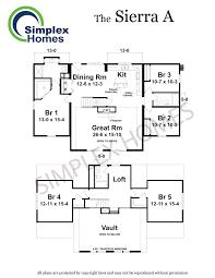 sierra rv floor plans simplex homes sierra a cape modular home