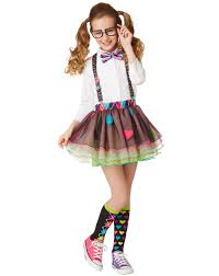 how to get in the halloween spirit girls nerd tutu at spirit halloween this girls nerd tutu shows