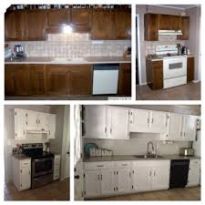 diy kitchen reno on a budget 1 paint cabinets backsplash