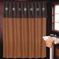 Rustic Cabin Bathroom - trend of rustic bathroom shower curtains and rustic cabin bath