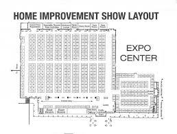 Expo Floor Plan by Floor Plan Pricing Billings Montana Home Improvement Show