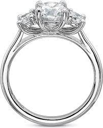 ring setting precision set three diamond engagement ring setting 2020