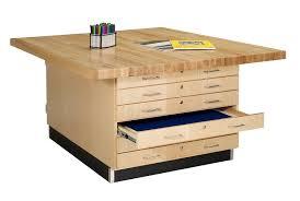 art table with storage shain duo storage workbench w o vises ww33 0v workbenches shop