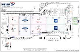 Auto Use Floor Plan by Floor Maps Washington Auto Show