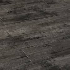 Gray Laminate Wood Flooring Lamton 8mm Modern Wide Plank Collection Cement Gray