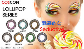 lollipop colored contacts 7 pairs ccg3 1 7 105 00