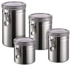 kitchen canisters stainless steel what are the advantages of stainless steel food storage containers