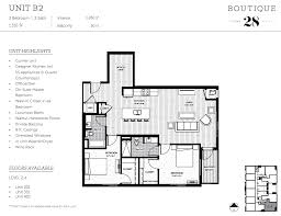 two bed two bath floor plans two bed floor plans boutique 28