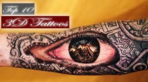 best 3d tattoos top 10 best tattoos in the