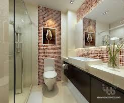 exclusive inspiration bathroom mosaic ideas backsplash border tile