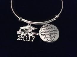 graduation cap charm 2017 graduation cap expandable charm bracelet silver wire bangle