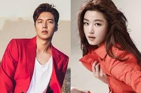 film drama korea lee min ho lee min ho and jeon ji hyun confirm new fantasy romance drama legend
