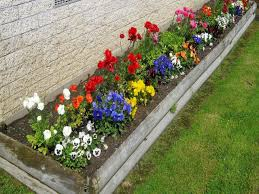 Gardening Ideas For Small Yards Simple Flower Garden Ideas Pictures Zhis Me