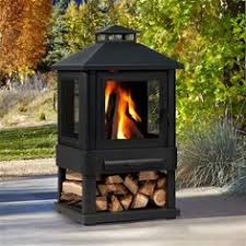 Real Flame Fire Pit - enclosed fire pit outdoor fireplaces chimineas fire bowls and fire