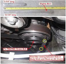 honda crv air conditioner compressor honda crv 2004 air conditioner problems 12541 05 compressor clutch