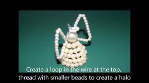 how to make beaded angels craft tips 5 youtube
