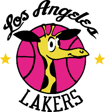 til the lakers u0027 logo used to be a giraffe nba