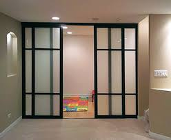 amazing of retractable room divider residential sliding wall houzz