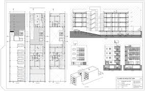 architectural building plans stunning two story modern house plans gallery exterior ideas