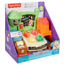 Fisher Price Toy Box Fisher Price Laugh U0026 Learn Fruits U0026 Fun Learning Market Walmart Com