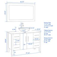 Height Of A Vanity What Height Vanity For A Vessel Sinkvanity Height With Vessel Sink