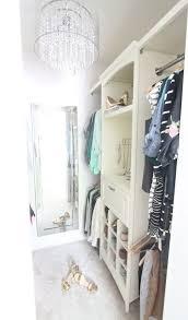 closet organizer system baby nursery closet before ikea algot