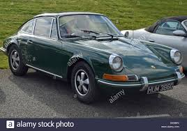 green porsche 911 classic green early pre 74 porsche 911 stock photo royalty free