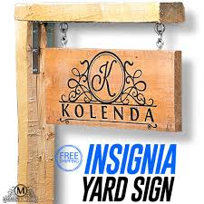 Personalized Home Decor Signs Custom Outdoor Sign Yard Sign Personalized Yard Sign Driveway Sign
