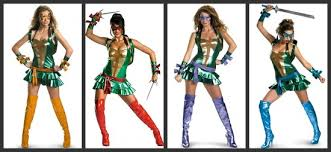 Ninja Turtle Womens Halloween Costumes Group Costumes Girls Halloween Costumes Blog