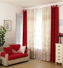 glamorous red curtains for living room ideas u2013 sitting room with