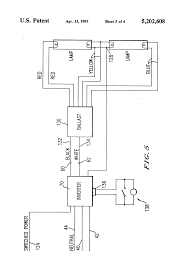 patent us5202608 emergency lighting system utilizing improved