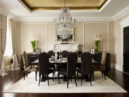 Crystal Chandelier Dining Room Home Design Ideas - Dining room crystal chandelier