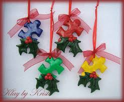 autism awareness puzzle ornaments great