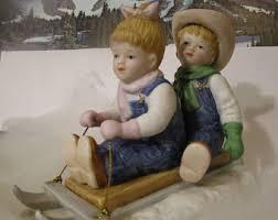 home interior porcelain figurines denim days etsy