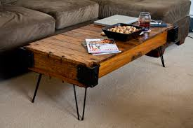 hairpin leg coffee table slab u2014 bitdigest design hairpin leg