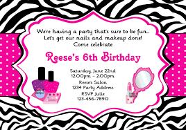 Salon Invitation Card Spa Party Invitations Designs Egreeting Ecards