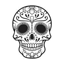 royalty free sugar skulls clip vector images illustrations
