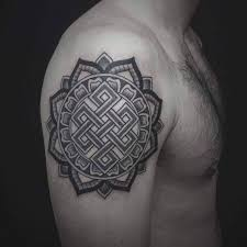 23 best tattoo endless knot images on pinterest mandalas spaces